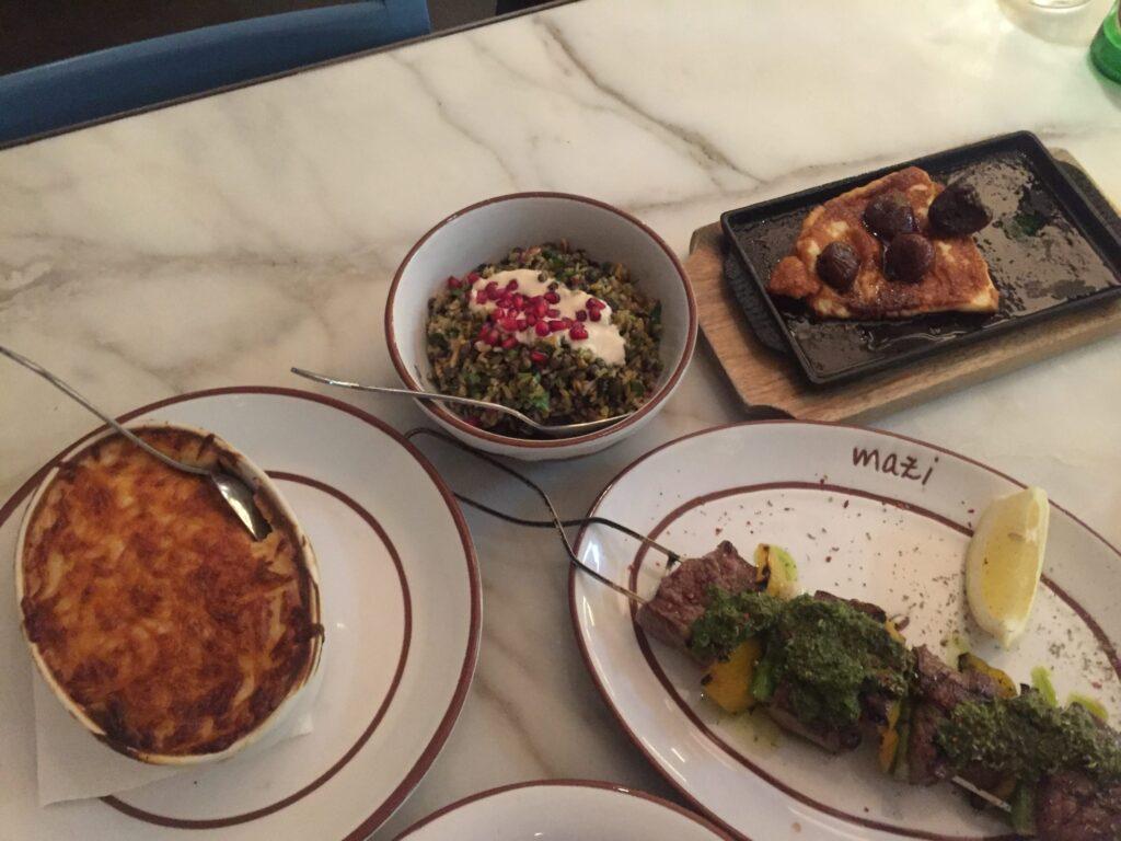 Cumpelaños Marta - Restaurante Griego Melbourne