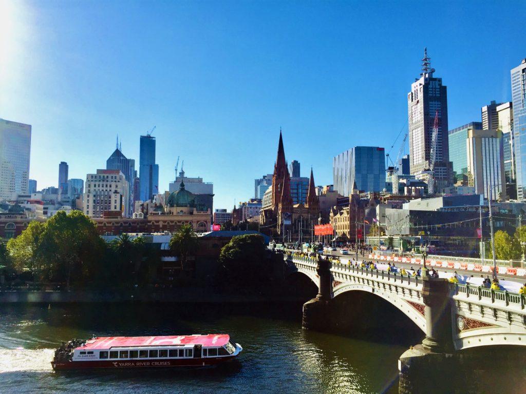 Primeros pasos en Australia