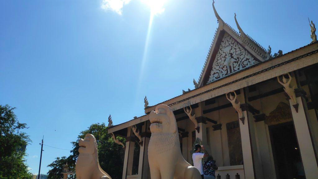 Wan Phnom pagoda