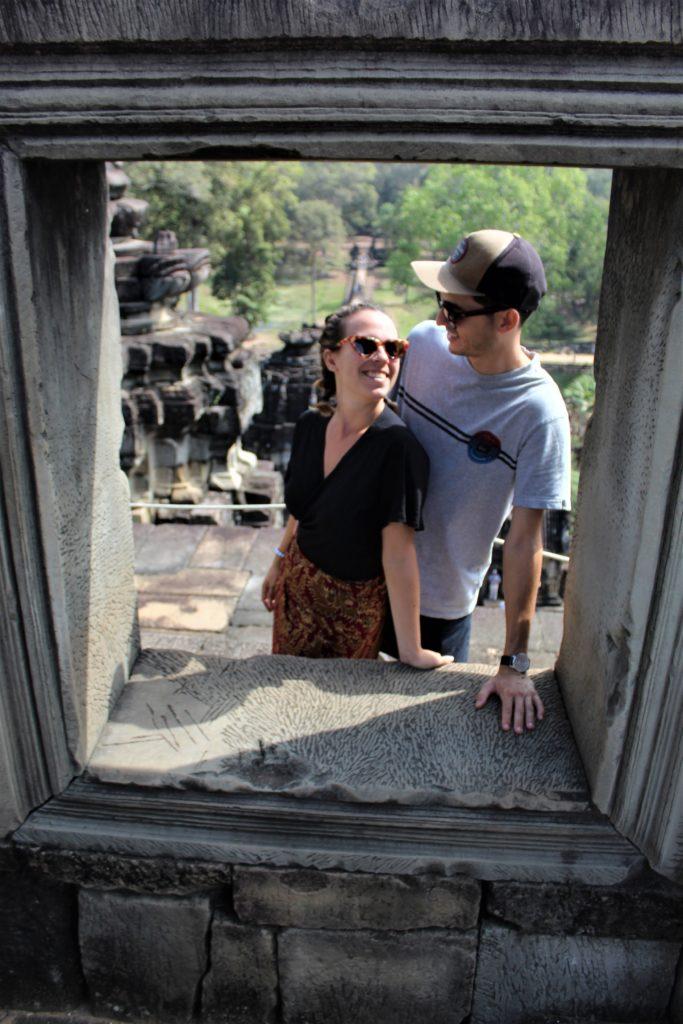 Retrato en Angkor Wat