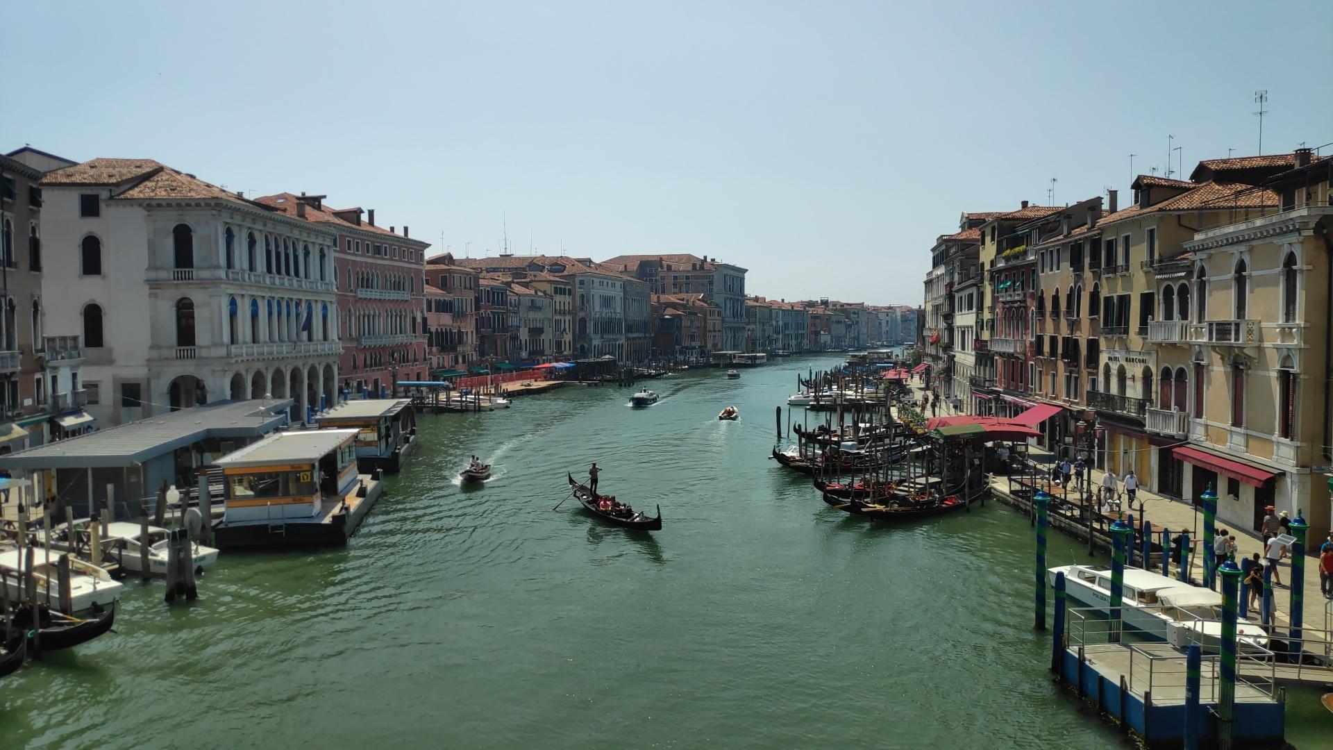 Un dia paseando por venecia