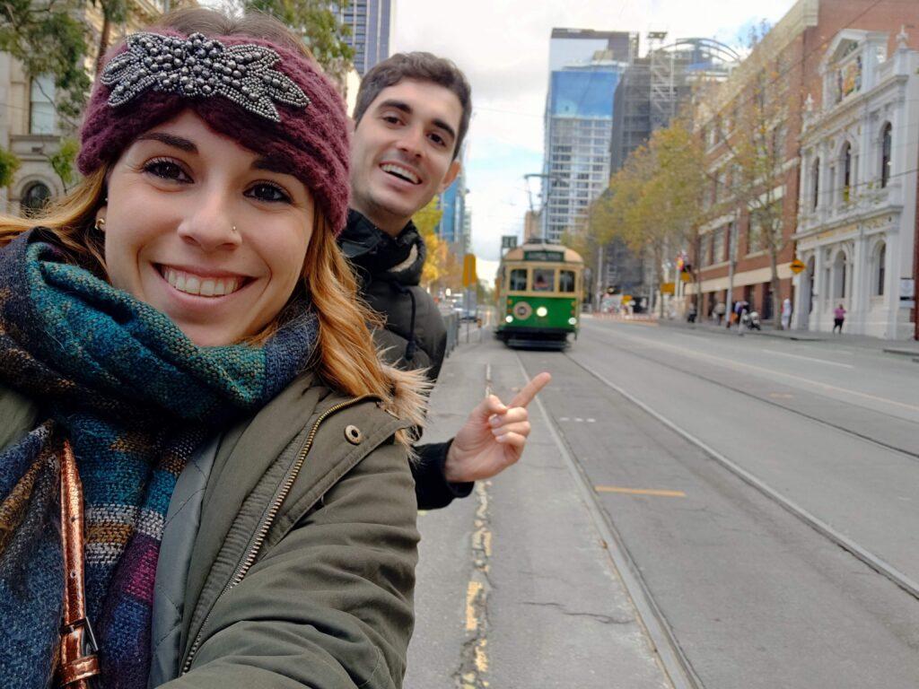 Melbourne City Circle Tram 35