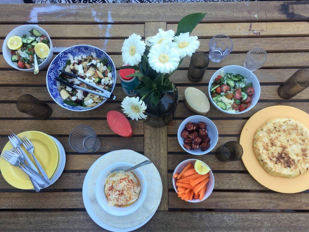 Comida entre amigos - Como vivir en Melbourne